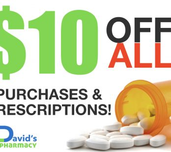 $10 off prescriptions Sale